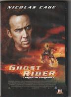 DVD Ghost Rider   Avec  Nicolas Cage - Fantasy