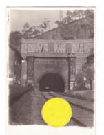 Photo Carte - Entrée D'un Tunnel De Chemin De Fer., Certainement Pendant La Guerre 14/18 - A SITUER - Train (1686) - To Identify