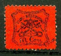 EGLISE N° 22 - 10c Noir Sur Rouge - Faux Pour Tromper La Poste - FAUX Neuf N* - Très Beau. - Estados Pontificados