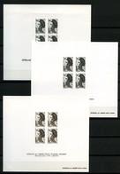 Lot D'épreuves Monochromes Années 80 - Très Beaux - Epreuves De Luxe