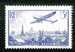 PA 12 - 3F Outremer Avion Sur Paris - Neuf N* - 1927-1959 Nuovi