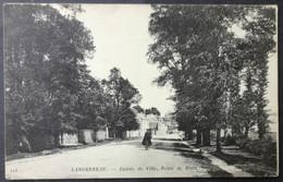 CPA 29 LANDERNEAU - L'Entrée De Ville, Route De Brest - ND 123 - Réf. S 00 - Landerneau