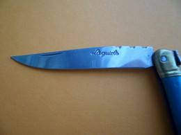 Couteau De Poche Vert LAGUIOLE - Abeille - Knives