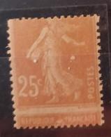 France/French Stamp 1927-31  N°235d Piquage à Cheval **TB - Ungebraucht