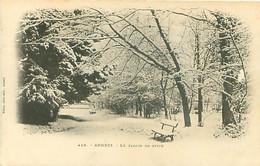 74 - Annecy - Le Jardin En Hiver        T 976 - Annecy