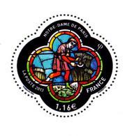 F 2020/ N**/  1,16 € Reprise Du N° YT 4714 / Vitrail Cathédrale Notre-Dame De Paris / Livret 50 Ans De L'Imprimerie - Nuovi
