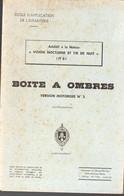 Boite à Ombres (additif à :  Vision Nocturne Et Tir De Nuit) 1958 (M1392) - Zonder Classificatie