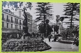 ALGÉRIE - Bône (Annaba) - Square Et Jardin De L'Hôtel De Ville - Voiture - CPA Carte Postale Ancienne - 1958 - Annaba (Bône)
