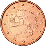 San Marino, 5 Euro Cent, 2004, Rome, TTB, Copper Plated Steel, KM:442 - San Marino
