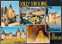 45 - Sully Sur Loire - Le Château - Multivues - Sully Sur Loire