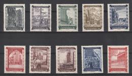 Oostenrijk 1948 Nr 712/21 **, Zeer Mooi Lot K1257 - 1945-60 Unused Stamps