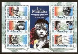 Guernsey Guernesey 2002 Yvertn° Bloc 46 *** MNH Cote 12,50 Euro Victor Hugo Les Misérables - Guernsey