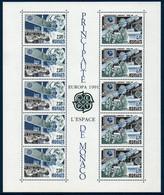 MON  1991  Bloc N°52  EUROPA  L'Europe Et L'Espace  ** MNH - Blokken