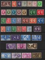 GREAT BRITAIN KING GEORGE VI FINE USED COLLECTION - Collezioni