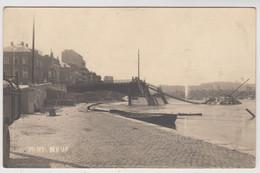 Liège  CARTE PHOTO Du Pont Neuf Durant La Première Guerre Mondiale - Liege