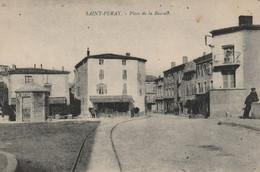 CPA-07-SAINT PERAY-Place De La Bascule - Saint Péray