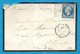 SEINE ET OISE - BRUNOY. PC 552 + CàD Type 15 - 1849-1876: Classic Period