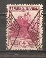España/Spain-(usado) - Edifil  674 - Yvert  510 (o) - 1931-50 Usados