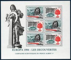 MON  1994  Bloc N°65   Europa . L'Europe Et Les Découvertes    ** MNH - Blokken