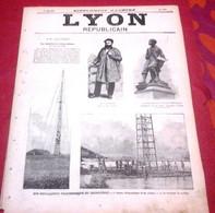Lyon Républicain Supplément Illustré N°461 1889 M. Thivrier Député Allier Montluçon Commentry,Télégraphe Cochinchine - 1850 - 1899