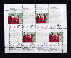 SLOVENIE TIMBRE N°46/47 - LA FEUILLE NEUVE - EUROPA 1993 - ART CONTEMPORAIN - Slovenia