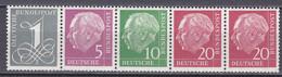Bund - Zusammendruck Aus Markenheftchenblatt 8 Y - Postfrisch MNH - Se-Tenant
