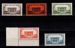 "Martinique - YV 191 à 195 N** Complete "" Sans RF "" - Nuovi"