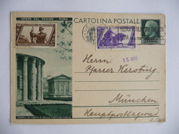 Italia - 1933 - Intero Postale - Opere Del Regime - Entiers Postaux