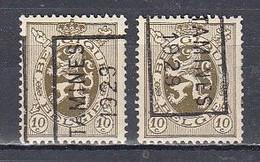 5170 Voorafstempeling Op Nr 280 - TAMINES 1929 - Positie A & B - Roller Precancels 1920-29