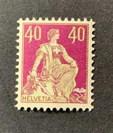 11296 -  Helvetia à L'épée No 176  40ct Lilas/vert ** Neuf MNH Catalogue 125 CHF - Unused Stamps