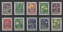Oostenrijk 1948 Nr 722/31 **, Zeer Mooi Lot K1258 - Collections (without Album)