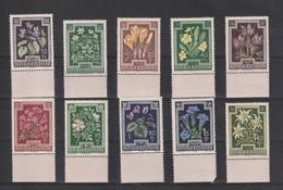 Oostenrijk 1948 Nr 722/31 **, Zeer Mooi Lot K1259 - 1945-60 Unused Stamps