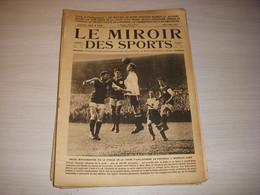 MIROIR Des SPORTS 0148 03.05.1923 FOOT FEMININ VELO GRASSIN RUGBY BAYONNE - Sport