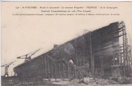 44 SAINT NAZAIRE Avant Le Lancement Le Nouveau Paquebot France ,échaffaudage Autour - Saint Nazaire