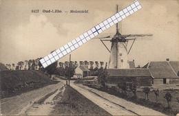 "LILLO-ANTWERPEN ""OUD LILLO-MOLENZICHT-KRUISWEG"" HOELEN 8427  UITGIFTE 18.06.1921 TYPE 6 - Antwerpen"