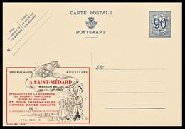 NEUVE CP ENTIER PUBLIBEL N° 978. A SAINT-MEDARD . MAISON BELGE. GABARDINE. IMPERMEABLES . BRUXELLES - Publibels