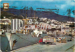 CPM Santa Cruz De La Palma La Cite Depuis Le Port Bateau - Mallorca