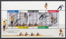 NIEDERLANDE Block 36, Gestempelt, Olympische Spiele Albertville Und Barcelona 1992 - Bloques