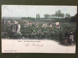VRIGNY -Le Travail Dans Les Vignes - Otros Municipios