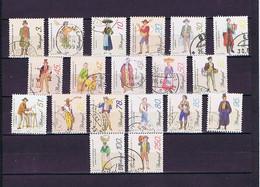 Portugal 1995-1999: 19 Versch. Marken Gestempelt /  19 Diff. Used - Collections