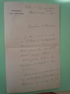 Lettre Autographe Jean Baptiste BOUHEY-ALEX (1855-1913) DEPUTE De La COTE D'OR - Père Du Résistant Jean BOUHEY - Autographs