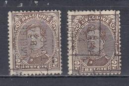 3255 III Voorafstempeling Op Nr 136 - TONGEREN 1924 TONGRES - Positie A & B (zie Opm) - Roller Precancels 1920-29