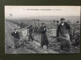 4 Les Vendanges En Champagne - Les Porteurs - Sin Clasificación