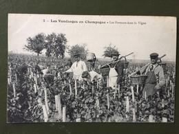 2 Les Vendanges En Champagne - Les Porteurs Dans La Vigne - Sin Clasificación