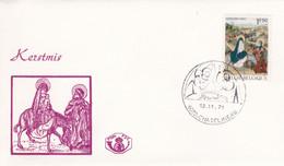 Enveloppe FDC 1608 Kerstmis Châtelineau - 1971-80