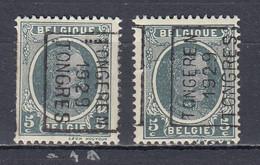 4700 Voorafstempeling Op Nr 193 - TONGEREN 1929 TONGRES - Positie A & B - Roller Precancels 1920-29