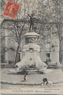 LAMALOU LE HAUT : ( Hérault ) :Musicien Indigène- Statue  ( 1908) - Lamalou Les Bains