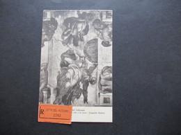 Vatican 1938 AK Einschreiben Citta Del Vaticano Frankiert Mit Freimarken Nr. 26 - 29 MiF Nach Münster (Westf) Gesendet - Covers & Documents