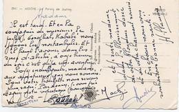 V12 65Sb  Tchad Abéche Le Palais De Justice Voir Texte Verso Avec Le Prêfet Garofhal, Kababé - Chad