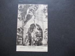 Vatican 1938 AK Capella Sistina Michelangelo Einschreiben Citta Del Vatricano Frankiert Freimarken Auch Pius XI.Nr. 30 - Covers & Documents
